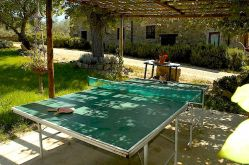 Villa Felceto ping pong table