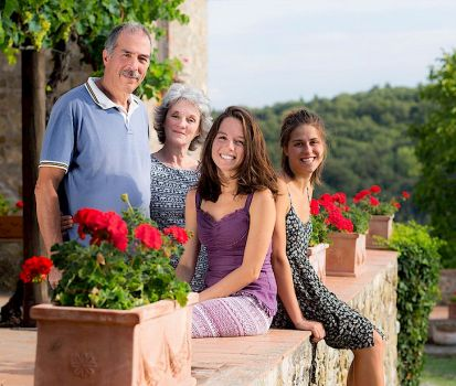 The Del Mastio family of Podere Felceto